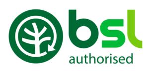 BSL Authorised Logo